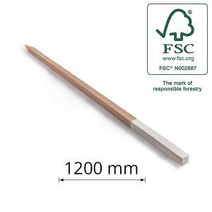 Hardwood Peg for Surveying