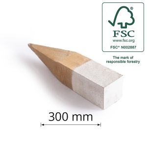 Hardwood Boundary Peg for Surveying