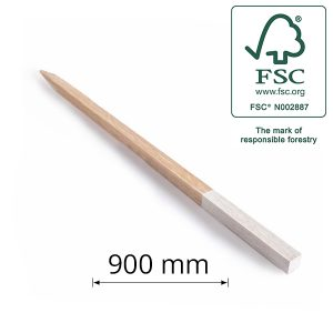 Hardwood Peg for Surveying