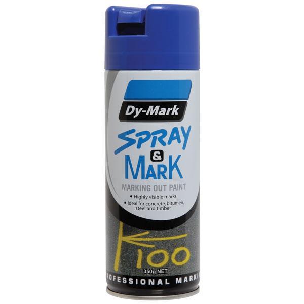 Dy Mark Spray Mark Blue