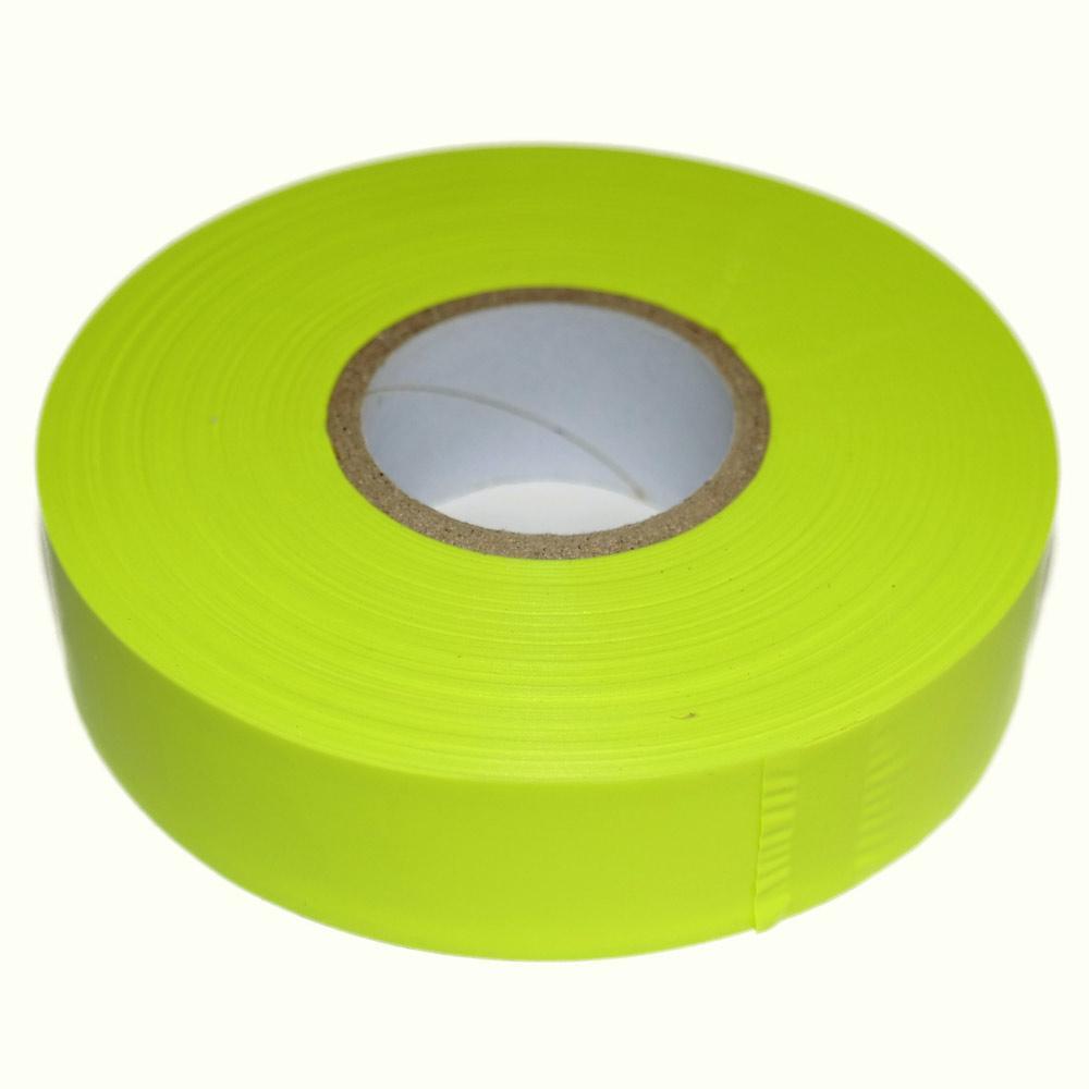 Fluoro Yellow Flagging Tape