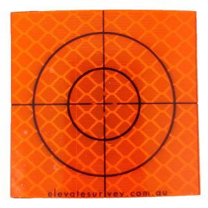 Reflective Surveying Target Orange