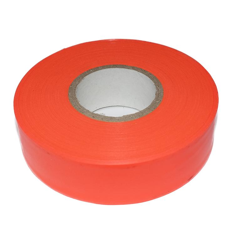 Fluoro Orange Flagging Tape
