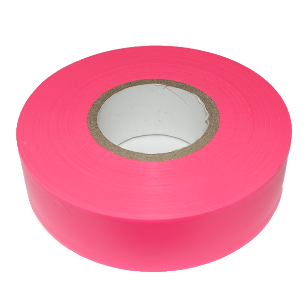 Fluoro Pink Flagging Tape