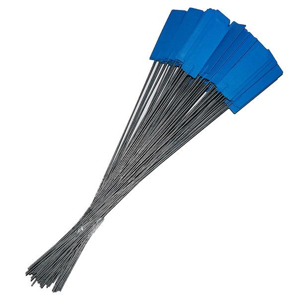 Pin Tags Blue