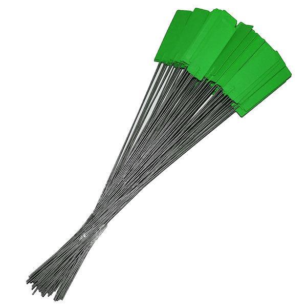 Pin Tags Green