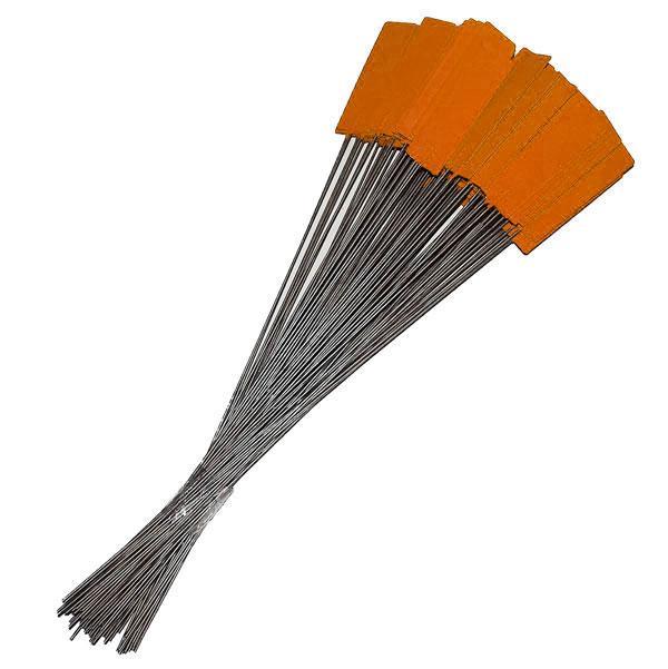 Pin Tags Orange