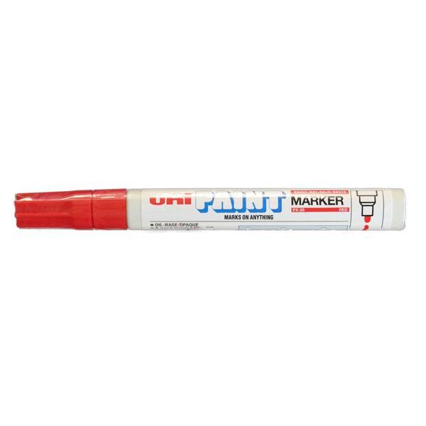 Uni Paint Marker Red