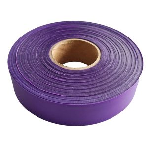 purple flagging tape
